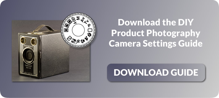 Camera settings for DIY product Photography