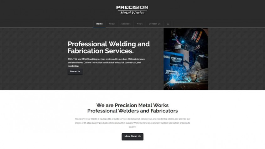 Precision Metalworks - Professional Welding and Fabrication